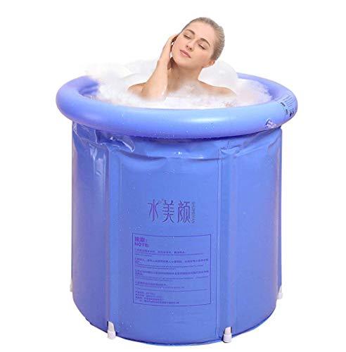 Opvouwbare badkuip Happy Life draagbare badkuip plastic badkuip Spa badkuip massage badkuip (grootte: 75 x 75)