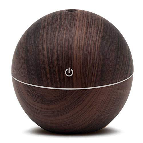 YSNMM Elektrische aromadiffuser met etherische oliën, 300 ml, USB, ultrasone luchtbevochtiger, aromatherapie mist Home Office