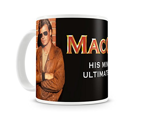 Offizielles Lizenzprodukt MacGyver Kaffeetasse, Kaffeebecher