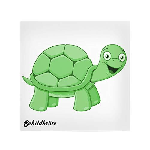 artboxONE Poster 20x20 cm Für Kinder Schildkröte Afrika - Bild schildkröte Afrika Comic