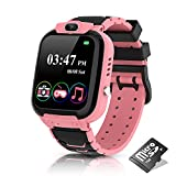 Smart Watch for Kids-Kids Smart Watch for Boys Girls with Camera MP3 Music Player 7 Games Video Player Recorder Calculator Alarm Clock Touch Screen Kids Watch Birthday Gifts for Aged 4-12