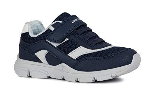 Geox J847NA Ki-Schuhe Diverse, C0661BLAU, 25
