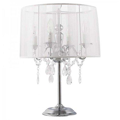 Paris Prix–Lámpara de mesa Barocco blanco
