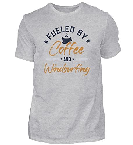 Windsurfen   01014 - Camiseta para hombre Gris (mezclado). S