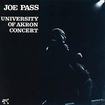 Joe Pass At Akron University