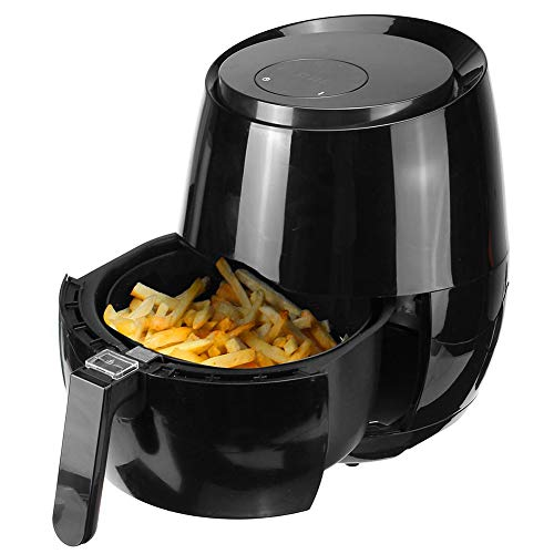 Air Fryer 1400W 5.2L Oil Free Health Fryer Cooker, Smart Touch LCD Airfryer voor het bakken, braden