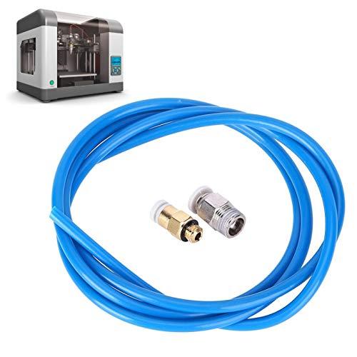 Tubo de alimentación remota Juego de boquillas remotas Impresora Juego de boquillas remotas 1m-2m para impresora 3D(1M)
