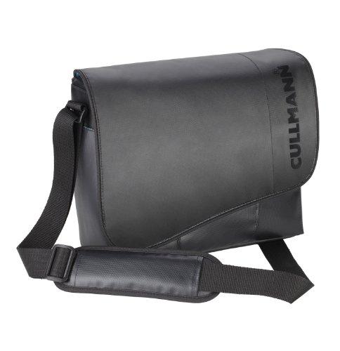 Cullmann Madrid Maxima Core 330 SLR-Kameratasche (Messenger, LKW-Planen-Material, für DSLR mit Objektiv, zusätzlichem Objektiv + Blitzgerät, Zubehör) schwarz