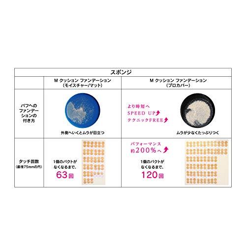 MISSHA(ミシャ)ミシャMクッションファンデーション(プロカバー)No.23自然な肌色単品15g