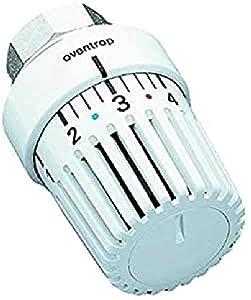 Oventrop Uni LH *1-5 - Termostato con posición Cero, 7-28 °C, Color Blanco