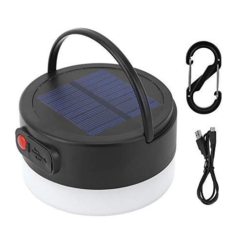 Bicaquu Camping Solaire imperméable extérieur Intense d'intense luminosité LED campant la Banque de Puissance de Secours
