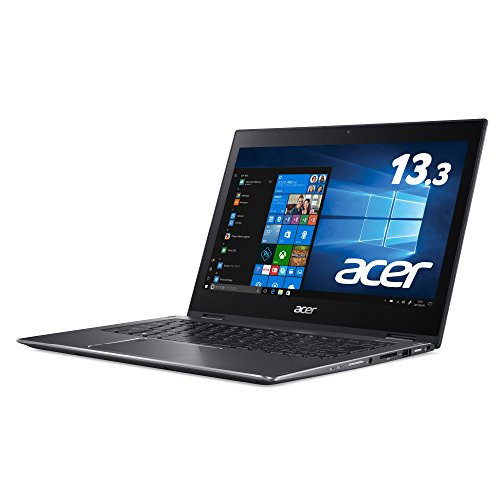 Acer ノートパソコン Spin5 SP513-52N-F38Q (Windows 10/Core i3-7130U/13.3インチ/8GB/128GB SSD/ドライブ...