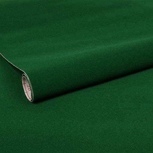 Alkor 3680003 Pellicola Adesiva per Mobili, Effetto Velluto Verde, 45 cm x 1 m