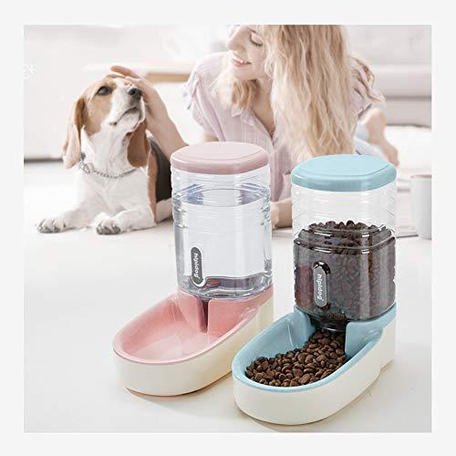 xiaoyan - Alimentador automático para mascotas, alimentador automático de alimentos y agua para mascotas, 3,8 L, alimentador de viaje y dispensador de agua para perros, gatos, mascotas y animales