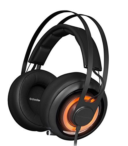 SteelSeries Siberia Elite Prism Gaming Headset-Jet Black (Certified Refurbished)