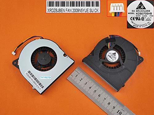Kompatibel für ASUS G72, G72G, G72GX Lüfter Kühler Fan Cooler höhe: 11mm 2