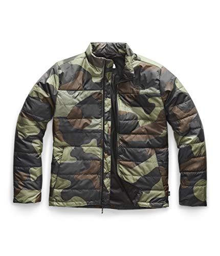 The North Face Men's Bombay Jacket, Four Leaf Clover Terra Camo Print, M