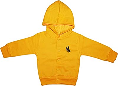 University of Wyoming Cowboys Baby and Toddler Snap Hooded Jacket