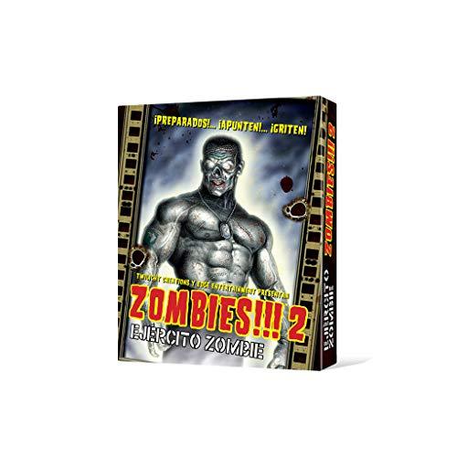 Edge Entertainment 2: Ejército Zombie-Español, Color (Fantsy Flight Games EDGTC02)