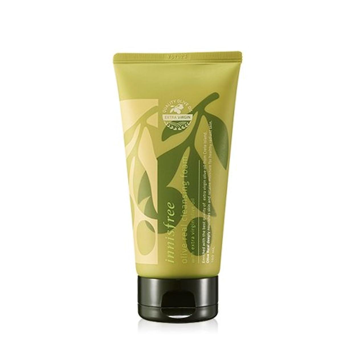 一人で分類楽しませる(3 Pack) INNISFREE Olive Real Cleansing Foam 150ml (並行輸入品)