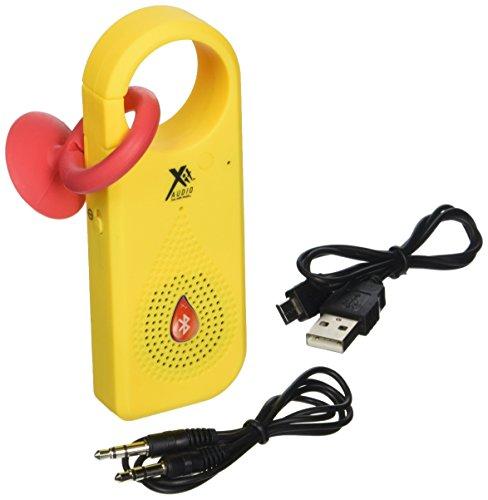 Xit AXTCXNY Bluetooth Clip X Speaker, Neon Yellow