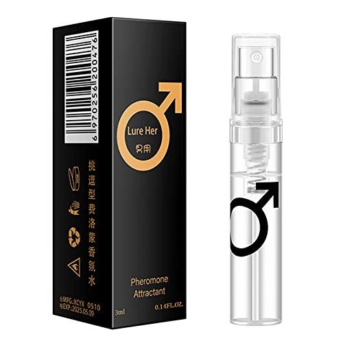 Tieguo - 3 ml feromonas Perfume Spray para conseguir mujeres inmediatas atención masculina premium olor gran