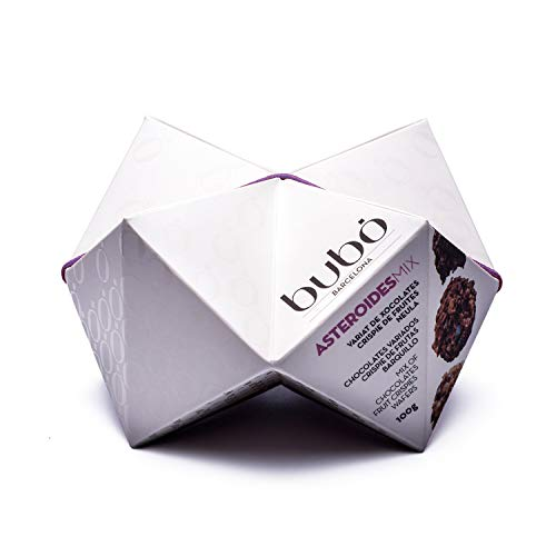 ブボ・バルセロナ チョコロック アステロイドミックス(3種)(ホワイト・ダーク・ミルクチョコレート/ウエハース・ミックスフルーツ)