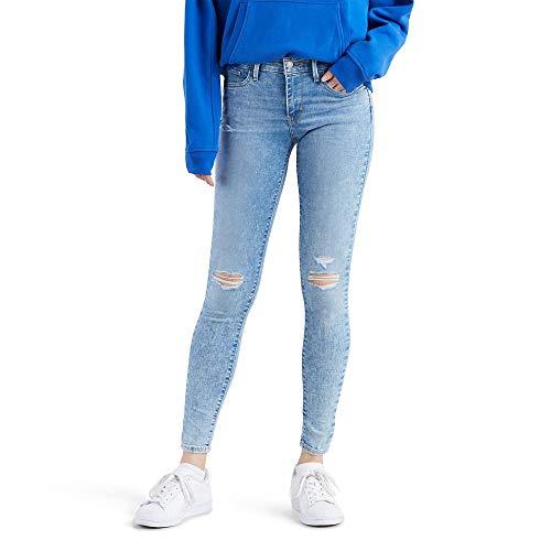 Levi's 710 Super Skinny Jeans para Mujer, Color Deja VU, 30×30