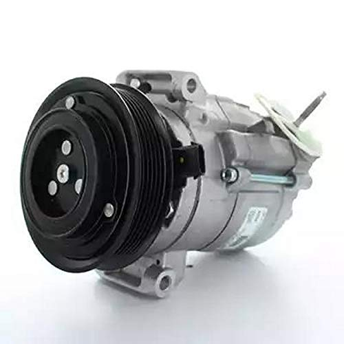 EcommerceParts 9145374923621 klimaatcompressor voor fabrikant: Genuine, riemschijf Ø: 119 mm, aantal vleugels: 6, spanning: 12 V, I-test (compressor): flens #9