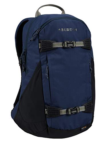 Burton Day Hiker 25L Mochilas, Unisex Adulto, Azul (Mood Indigo Rip Cordura), Talla Única
