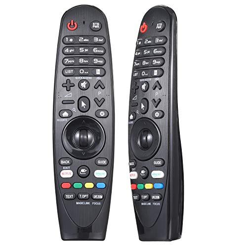 AN-MR20GA AN-MR19BA AN-MR18BA AN-MR650 Control remoto mágico universal compatible con LG Smart TV ( sin función de voz)