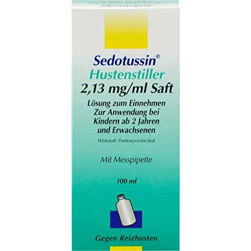 Sedotussin Hustenstiller 2,13 mg/ml Saft Lösung zum Einnehmen, 100 ml Lösung