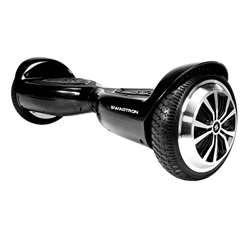 Swagtron Swagboard T5 Entry Level Hoverboard for Kids and Young Adults; Optional Learning Mode;...