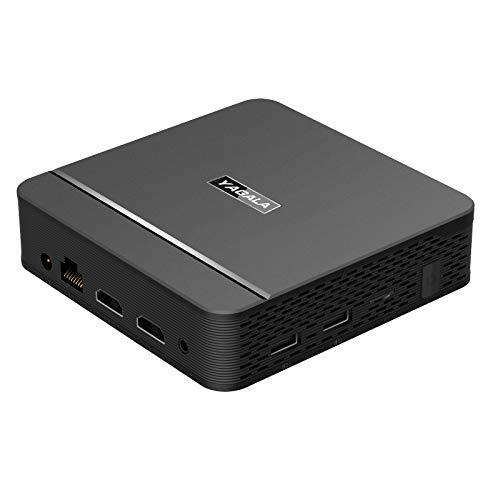 Mini PC, TX88 Mini Desktop Computer Windows 10(64-bit) Intel 8GB 64GB with HDMI/VGA Port,Support 1000 Ethernet 2.4/5.0GHz Dual Wi-Fi BT 4.0 USB 3.0 4K HD