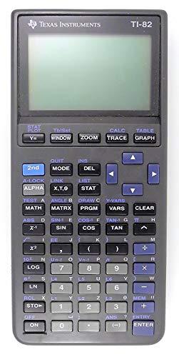 Texas Instruments TI-82 Graphing Calculator (Renewed)