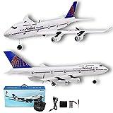 Aerei Telecomandati RC, Simulazione a Tre Canali Design EPP Materiale Modello Aeromobili Giocattolo UAV per Modello Boeing B747