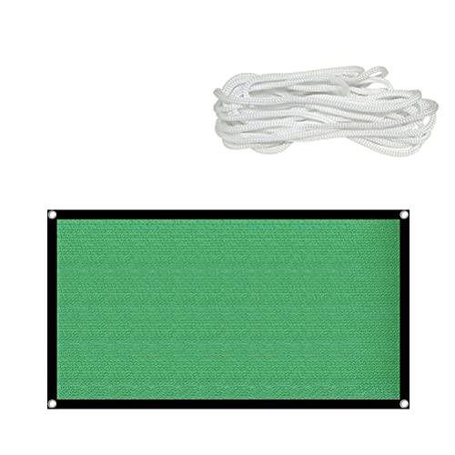 WBTY Sonnensegel, rechteckig, wasserdicht, UV-Block-Sonnenschutz, Markise mit Befestigungsset, für Außenbereich, Terrasse, Garten, Hinterhof, Isolierung, Sonnenschutz