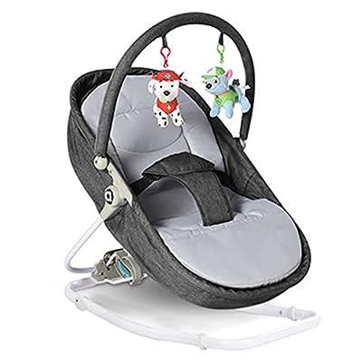 VIVIANSHOP Nueva Silla de bebé bebé Cuna Silla coaxia bebé Cuna bebé Mecedora Silla Manual Mecedora Grey
