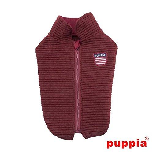 Puppia PAQD-TS1461 Troy, Sweater, L, dunkelrot