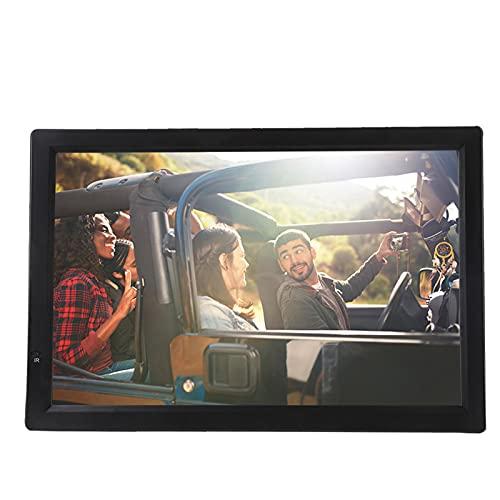ASHATA 14 Inch Televisión Portátil,TFT-LED TV Digital para Coche,HDTV LCD 1080P Televisor Compatible con MKV,MOV,AVI,WMV,MP4,FLV,MPEG1-4,RMVB,Video,MP3,Apoyo AV Tarjeta SD MMC USB HDMI VGA