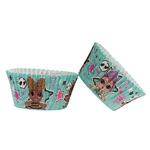 Dekora 339264 - Pirottini per cupcake con design LOL, 25 unità
