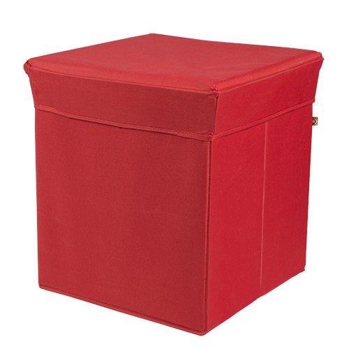 Phönix 817331RO Sitz und Aufebwahrungsbox Stor'It, 41 x 44 x 41 cm, rot