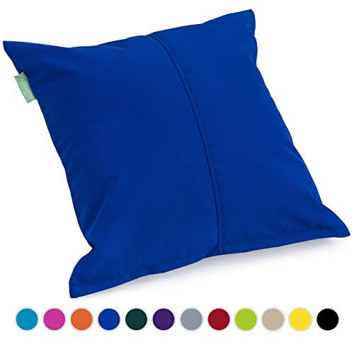 Gardenista | Outdoor Water Resistant Foam Crumb Filled 18' Garden Furniture Cushion (Blue)