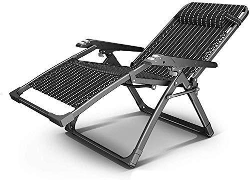 N/Z Equipo Diario Sillas Plegables reclinables al Aire Libre Sillón Asientos al Aire Libre Sillón reclinable/Silla Plegable/Respaldo Ajustable