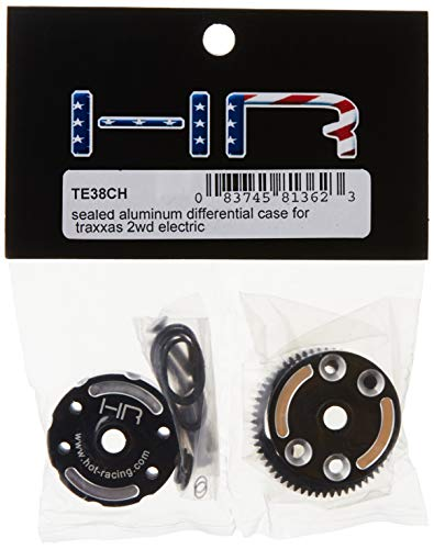 Hot Racing TE38CH Sealed Aluminum Differential Case for Traxxas 2WD Electric