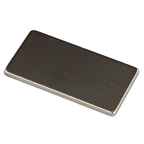 【10個入り】 強力ネオジウム磁石 20×10×1.3mm
