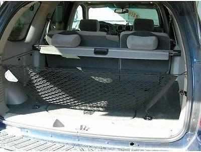 Envelope Style Trunk Cargo Net for GMC Envoy Chevrolet Trailblazer Buick Rainier Saab 9-7x Oldsmobile Bravada