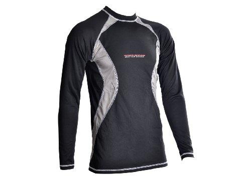Sherwood Kinder Unterwäsche Funktions 3m Shirt Junior, Schwarz, M