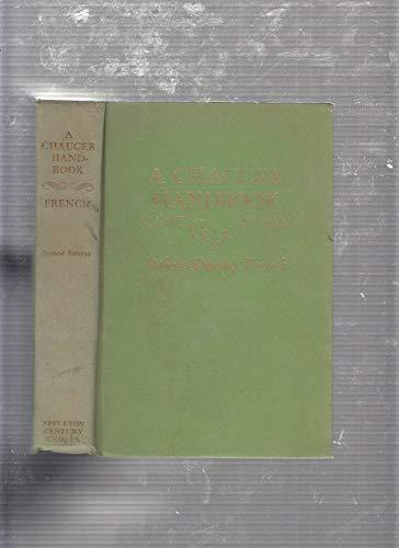 A Chaucer handbook,