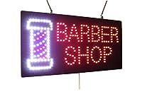 理髪店の看板、スーパーブライト高品質LEDオープンサイン、ストアサイン、ビジネスサイン、ウィンドウサイン